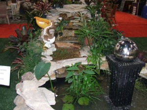 home show pond displays