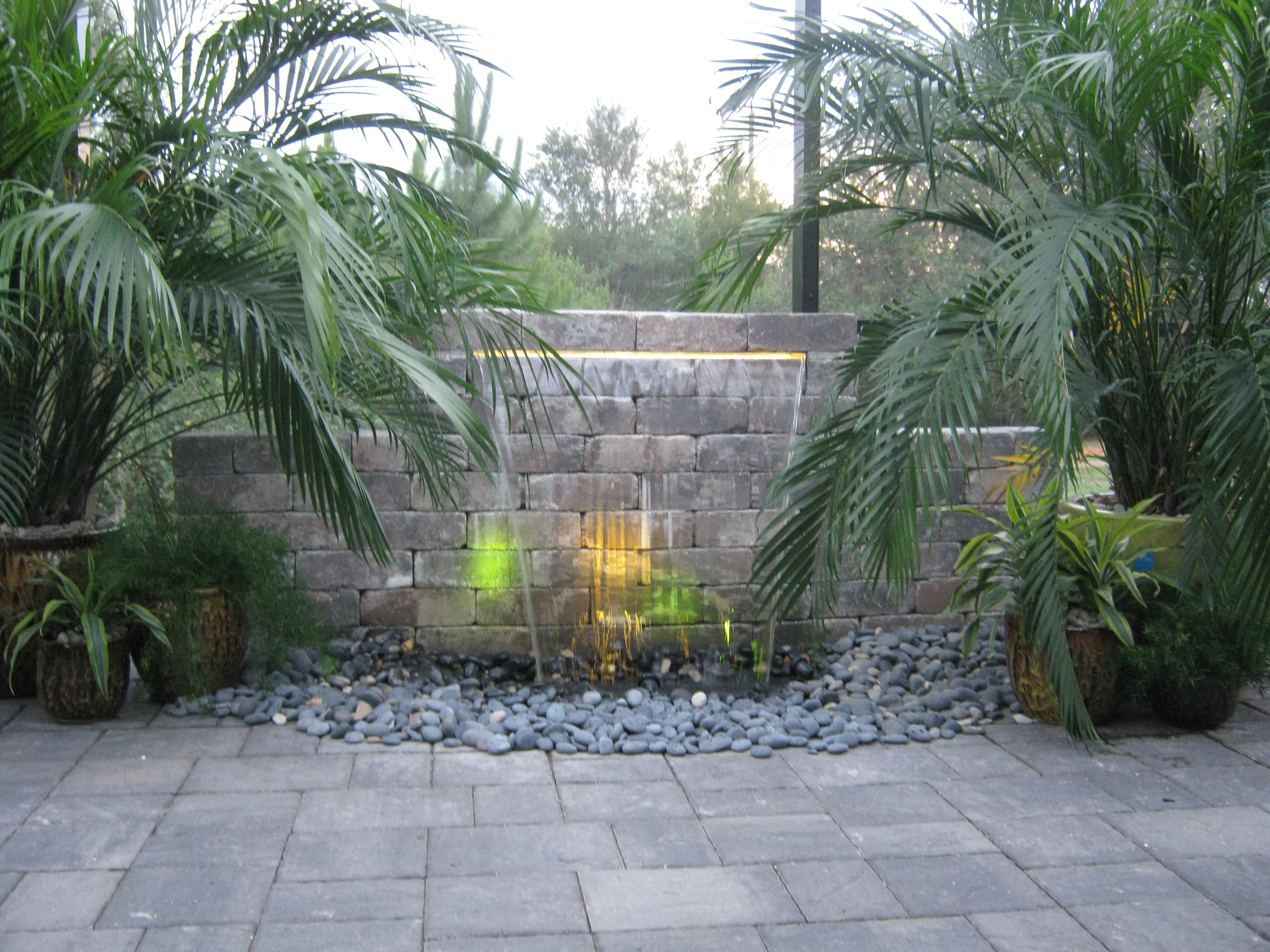 Water Features For Backyards Pictures : PondFree Water Features  Backyard Getaway