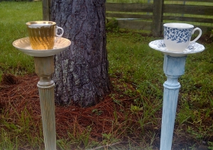 re-purposed birdfeeder