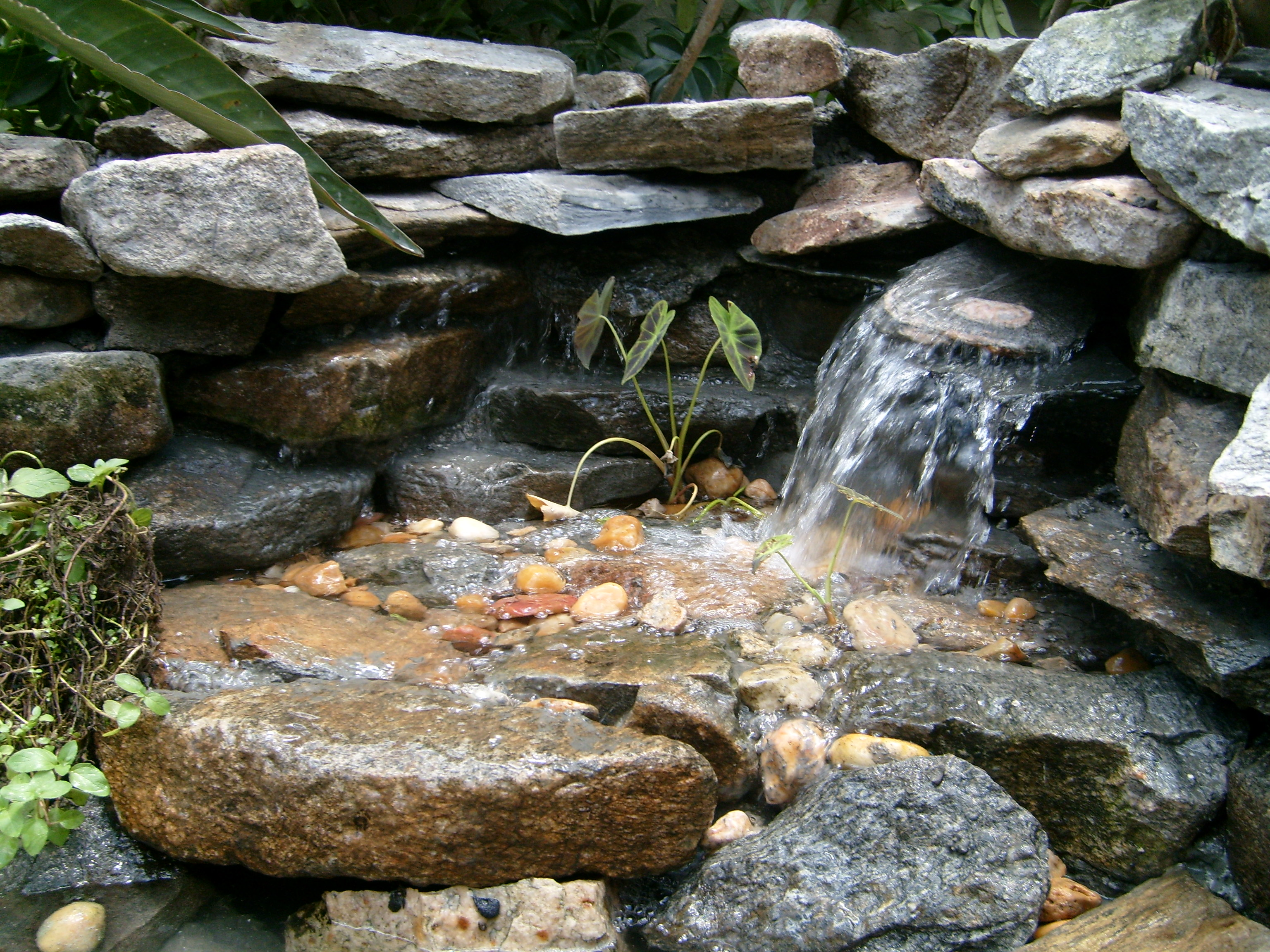 Pond Free Water Features Backyard Getaway